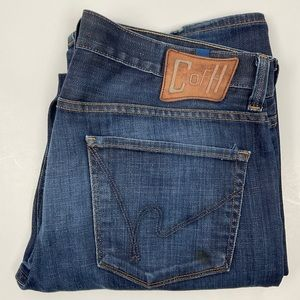 C of H Mens Evans Relaxed Jean Advantage Wash 36